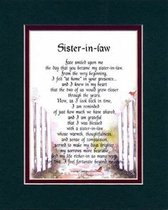 12 Sister In Law Quotes Ideas Sister In Law Quotes Law Quotes Sister In Law Birthday