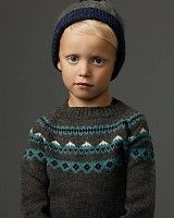 As We Grow Mountain sweater - highland wool - grey - 18m to 8y