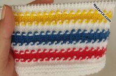 picasa Azu-lots of nice crochet stitches, väldigt mycket att välja på, synd a& Baby Knitting Patterns, Knitting Charts, Knitting Stitches, Knitting Designs, Baby Patterns, Hand Knitting, Stitch Patterns, Knitting Videos, Knitting For Beginners