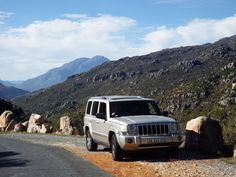 Jeep commander in Bainskloof