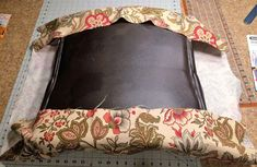 How to Reupholster an Office Chair — The Mermaid's Den Recover Office Chairs, Office Chair Cushion, Cheap Office Chairs, Chair Cushions, Chair Pads, Wooden Office Chair, Wooden Dining Room Chairs, Wayfair Living Room Chairs, Brown Leather Recliner