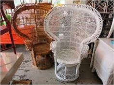 poolside chairs, garden end