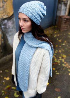 Garnpakke: Alettegenser i Faerytale (dame) - Knitting Inna Tweed, Winter Hats, Knitting, Crochet, Pdf, Fashion, Caps Hats, Scale Model, Projects