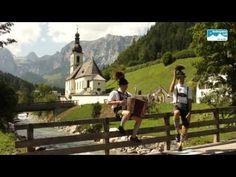 Schuhplattler im Berchtesgadener Land. Tradition und Brauchtum in Bayern - YouTube