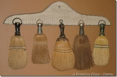 Old Whisk Brooms...