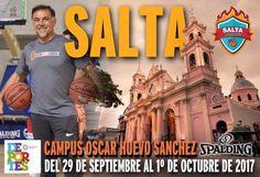 """Oscar """"Huevo"""" Sánchez dictará un campus de básquet en Salta: El formador de """"Manu"""" Ginóbili y experimentado entrenador dictará un campus…"""