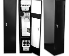 Super Locker - 8 Plant Vertical Hydroponics Grow Box - The name says it all. The SuperLocker HPS Grow Locker looks exactly like that gym locker from your school days for the most discrete indoor garden you can get.