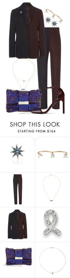"""""""My Fantasy Wardrobe"""" by neuroticfashionplate ❤ liked on Polyvore featuring Bee Goddess, Delfina Delettrez, Sophie Theallet, Sydney Evan, Kevin Jewelers, Jimmy Choo, Pascale Monvoisin and Stuart Weitzman"""