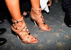 The sex is in the heel. #NYFW #BrianAtwood