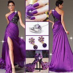 purple prom dresses 2015 - Google Search