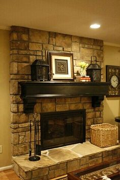 find this pin and more on fireplace charm - Home Fireplace Designs