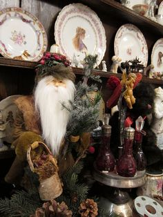 My woodland Santa