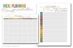 Menu Planning, maandelijks en wekelijks. Handig om de aanbiedingen in te plannen. 1 halen 2 betalen kun je nu financieel mooi gebruiken.