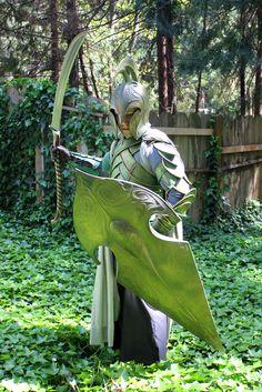 RPF member High Elven Armor (made with linoleum! Elf Armor, Knight Armor, Warrior Costume, Elf Costume, Fantasy Armor, Medieval Fantasy, Larp, Aragorn Costume, Dark Souls