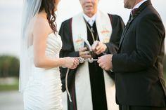 ceremony tying the knot, photo by setfreephotography.com
