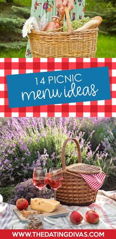 The best picnic menu ideas for spring & summer #picnic Romantic Picnic Food, Picnic Date Food, Best Picnic Food, Picnic Menu, Picnic Dinner, Fall Picnic, Backyard Picnic, Picnic Lunches, Picnic Foods