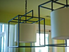 Square Iron Cage Lights from HGTV Dream Home 2013 --> http://www.hgtv.com/dream-home/hgtv-dream-home-2013-dining-room-pictures/pictures/page-3.html?soc=pinterest