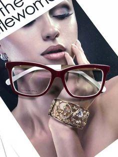 Armação De Óculos De Grau Gatinho C  Pérola Haste C  Brinde - R  6225555aa5