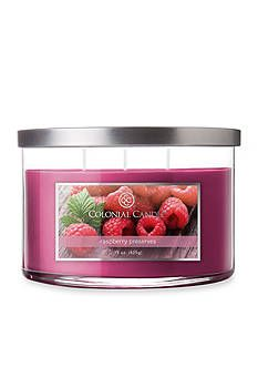 Colonial Candle® 15-oz. 3-Wick Raspberry Preserves Candle