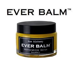 EVER BALM is a handcrafted balm designed to address virtually every  skincare issue. Itfree of chemicals, preservatives, toxins and fillers….  which means that every jar is pure, unadulterated goodness. (not vegan)