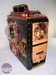 Modified PC Case - Steampunk