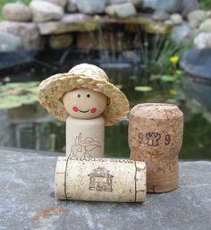 Appleshoe: Cork Dolls! wedding favor - DONE.