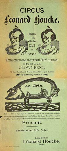 https://flic.kr/p/NcXhvo | Circus Leonard Houcke | Beskrivelse / Description: Plakat / poster. Dato / Date: ca. 1897-1915 Trykkeri / Printing House: Kragerø Aktiebogtrykkeri Eier / Owner Institution: Nasjonalbiblioteket / National Library of Norway Lenke / Link: www.nb.no Bildesignatur / Image Number: no-nb_plktr_04292