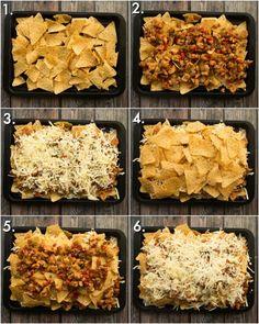 Chicken Fajita Nachos Recipe, Chicken Fajitas, Mexican Food Recipes, Beef Recipes, Chicken Recipes, Nachos Supreme, Fajita Mix, Homemade Fajita Seasoning, Deserts