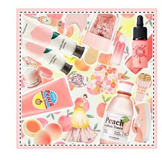 """""""Peachy Picnic"""" by beanpod ❤ liked on Polyvore featuring beauty, TONYMOLY, Innisfree, SkinCare, peripera, Etude House, Skinfood, Vans, Marie Mas and ban.do"""