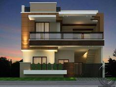 New Ideas House Plans Modern Farmhouse Design Duplex House Design, House Front Design, Modern House Design, Independent House, Contemporary Decor, Contemporary Architecture, Farmhouse Architecture, Contemporary Apartment, Contemporary Wallpaper