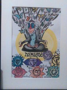 Spirituality Art, Namaste, Chakra, Tarot, Artwork, Work Of Art, Auguste Rodin Artwork, Chakras, Artworks