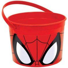 Spider-Man Favor Bucket