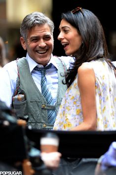 Amal and George Clooney Could Not Look More in Love in Their Latest Pics