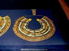 Gold sheet collar,Ancient Egyptian.