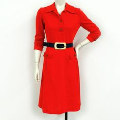 Mod Dress Bright Red, 100€, now featured on Fab.