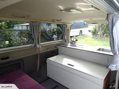 This is our 2001 Toyota Grand Hiace, a self contained campervan with a neat layout and practical design.