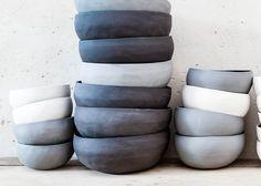 Ceramic bowls Ramen bowl set Black ceramic bowls Set of Stoneware Clay, Ceramic Bowls, Ramen Soup, Pink Bowls, Bowl Designs, Nesting Bowls, Decoration, Bowl Set, Safe Food
