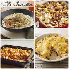 favorite fall dinners