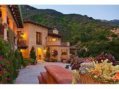 Tuscan style villa in Montecito, CA via @Zillow