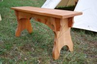 Furniture - Medieval Market, A bench type 2