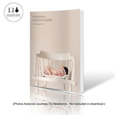 Guide Templates Newborn Welcome Guide  Photography Marketing Template  Newborn .