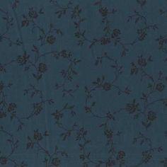 Choice Fabrics 108 Inch Quilt Back Indigo Climbing Rose | Fabric