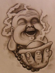 Laughing Buddah by 814CK5T4R on DeviantArt