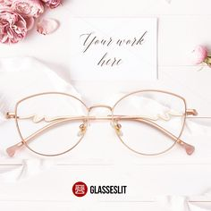 Glasseslit's Birthday Carnival, Once you examine the glasses versions, you might find that there are numerous options. You can pick the most suitable for your self from these glasses options and get a much more fashionable look. Glasses Frames Trendy, Cool Glasses, New Glasses, Glasses For Round Faces, Rose Gold Glasses, Glasses Trends, Online Eyeglasses, Fashion Eye Glasses, Ideias Fashion