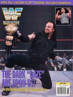 WWE Magazine Misc Covers & Clippings - WWFmagJune1997 - PhenomForever.Com