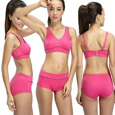 #YvetteStyles New styles for new year: 6043 Sports Bra. 3 colors:rose, balck, turquoise
