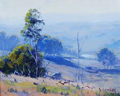Австралийский художник Грэм Геркен пишет упоительные пейзажи любимого континента 22