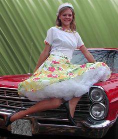50s - Im Stil der 50er Jahre Teeneger Outfit