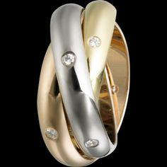 #Trinity #diamond #ring