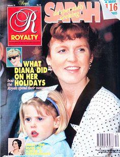 Royalty Monthly Magazine Vol 10 Issue 12 Sept 1991 Diana Sarah Ferguson